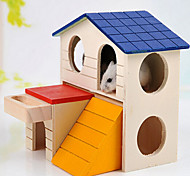 Pet Small Wooden House Pet Supplies