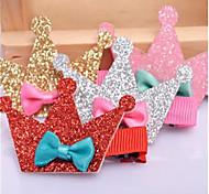 Dog Hair Accessories Dog Clothes Cute Tiaras & Crowns Rainbow