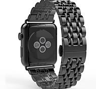 Para maçã relógio série 1 série 2 38 milímetros / 42 milímetros em aço inoxidável substituição de metal inteligente pulseira cinta