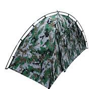1 человек Световой тент Двойная Складной тент Однокомнатная Палатка 1500-2000 мм Стекловолокно Оксфорд Водонепроницаемый Переносной-