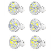 7W GU10 Faretti LED 48 SMD 2835 600 lm Luce fredda V 6 pezzi