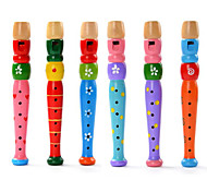 Educational Toy Cylindrical Leisure Hobby Wood Unisex RANDOM COLOR
