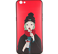 For OPPO R9s  R9s Plus Case Cover Pattern Back Cover Case Sexy Lady Soft TPU R9 R9 Plus