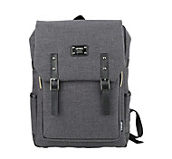 15.6 inch Ultra-Light Portable Computer Backpack Korean Style Shoulder Bag Waterproof Pure Color Unisex