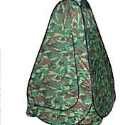 1 человек Световой тент Двойная Складной тент Однокомнатная Палатка 2000-3000 мм Стекловолокно Оксфорд Водонепроницаемость Компактность-
