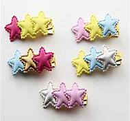 Dog Hair Accessories Dog Clothes Summer Stars Cute Rainbow