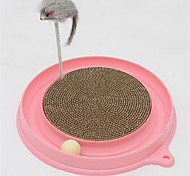 Cat Toy Pet Toys Interactive Scratch Pad Plastic