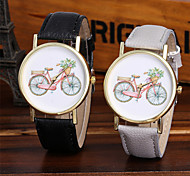 Ladies Fashion Quartz Watch Women Bicycle Leather Casual Dress Women's Watch Reloje Mujer Montre Femme