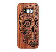 For Samsung Galaxy S8 S8 Plus Skull Carving Hard Protective Back Cover  Samsung Case S7 edge S7