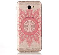 For Samsung Galaxy J7(2017) J5(2017) TPU Material IMD Process Pink Taro Pattern Phone Case J3(2017) J7 Prime J3 Prime J710 J7 J510 J5 J310 J3
