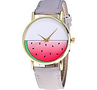Ladies Fashion Cute Watermelon Quartz Watch Women Leather Casual Dress Women's Watch Reloje Mujer Montre Femme