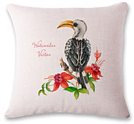 1 pcs big mouth bird printing style pillowcase cushion sets