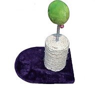 Cat Toy Pet Toys Interactive Scratch Pad Durable Sisal Plush