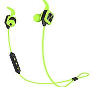 Fone de ouvido bluetooth fones de ouvido sem fio esportes fones de ouvido estéreo baixos com gancho de ouvido mic voz prompt de redução de