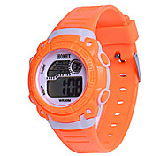 Men's Sport Watch Digital Watch Chinese Digital Silicone Band Blue Orange Pink