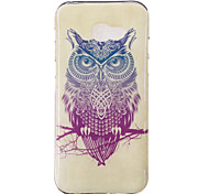 For Samsung Galaxy A3 A5 (2017) Case Cover Owl Pattern HD Painted TPU Material IMD Process Phone Case A7 (2017) A3 A5 (2016) A3 A5