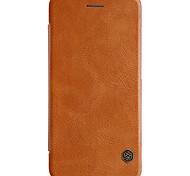 Для xiaomi mi 6 nillkin кейс покрытие держатель карты автоматический sleep / wake флип полный корпус корпус сплошной цвет твердый pu кожа