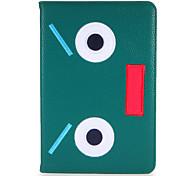 Para apple ipad mini1 2 3/4 capa caso com stand flip padrão corpo cheio cartoon cartoon duro couro pu