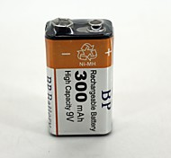 Rechargeable  Battery  300mAh   9V