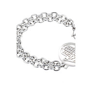 Kalen Fashion Hamsa Hand Charm Bracelets & Bangles For Women Acero Inoxidable Bracelets High Quality Unique Fatima Hand Bracelet Party Christmas Gifts