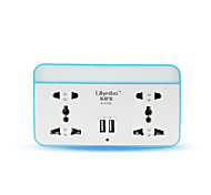 Power Strip With 4 Feet Code 2 USB Power Charger 220V 10A