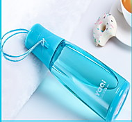 420ml Plastic Portable Motion Kettle Water Bottle