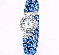 Женские Часы-браслет Китайский Кварцевый Группа Элегантные часы Белый Красный Розовый Темно-синий