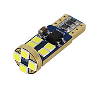 4 xt10 bianco canbus 3030 led wedge car 12 smd lampadina w5w 194 168 2825 192 12-24v