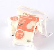Pocket Shape 50pcs Makeup Cotton Pad Pure Cotton Easy Expand Lock Edge