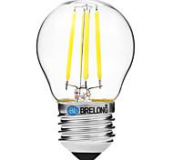 4W LED Glühlampen G45 4 COB 300 lm Warmes Weiß Weiß Abblendbar V 1 Stück