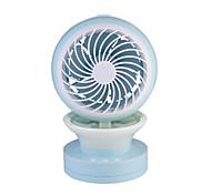 Вентилятор охлаждения воздуха LED Пополнение запасов увлажнения Прохладный и освежающий Регулирование скорости ветра Батарея