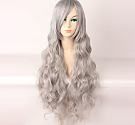 Lolita Wigs Sweet Lolita Gray Lolita Long Curly Lolita Wig 85 CM Cosplay Wigs Wig 147