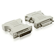 DVI Adapter, DVI to DVI Adapter Male - Female 720P Nickel-plated steel
