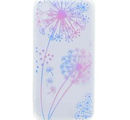 For HTC Desire 626 Case Cover Transparent Pattern Back Cover Case Dandelion Soft TPU Case