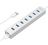 ORICO H7013-U3 Silver Aluminum USB3.0 Super-Speed HUB 4-PORT with 100CM