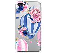 Для iphone 7 плюс 7 чехол чехол прозрачный узор задняя крышка чехол воздушный шар цветок мягкий tpu для iphone 6s плюс 6s 6 плюс 6 5s 5 se
