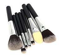 Travel Makeup Brush Set 7pcs High Quality Mini Makeup Tools Kit