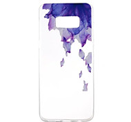 Case for Samsung Galaxy S8 Plus S8 Pattern Back Cover Flower Soft TPU S7 Edge S7