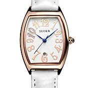 Women's Fashion Watch Quartz Digital Water Resistant / Water Proof Leather Band White