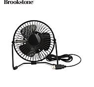 BrookStone Mini USB Fan with LED Light Clock
