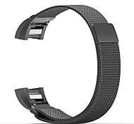 Для fitbit charge 2 band milanese петля из нержавеющей стали браслет умный ремешок для часов