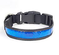 Collar Wateproof Reflective Portable Adjustable Solid Nylon