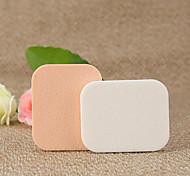 pcs Powder Puff/Beauty Blender Natural Sponges Quadrate