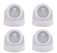 LED Night Light-2W-BatterySmart Human Body Sensor - Smart Human Body Sensor 4pcs