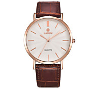 Women's Fashion Watch Quartz Water Resistant / Water Proof Leather Band Black Red Brown Purple