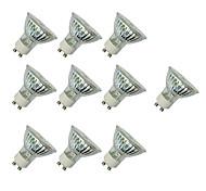 3W Точечное LED освещение MR16 60 SMD 3528 280-420 lm Тёплый белый Белый V 10 шт.