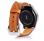 For Samsung Gear S3 Frontier / Classic Gear 22MM Cowhide Genuine Leather Wrist Band Classic Buckle
