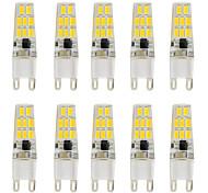 3W Двухштырьковые LED лампы T 16 SMD 5730 260 lm Тёплый белый Холодный белый V 10