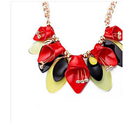 MPL European and American fashion personality diamond necklace exaggerated
