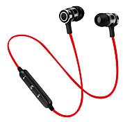 Круг s6 магнит bluetooth наушники беспроводная Bluetooth-гарнитура спортивные стерео стерео супер басовые наушники с микрофоном для